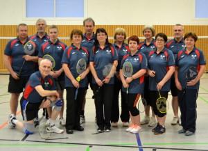 Badminton Gruppe