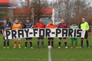 Pray for Paris Banner